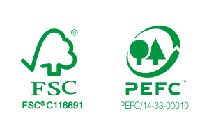 labels matériaux FSC PEFC